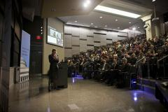 Professor Maria Zuber delivers the 2012-13 Killian Award Lecture; photo: Dominick Reuter