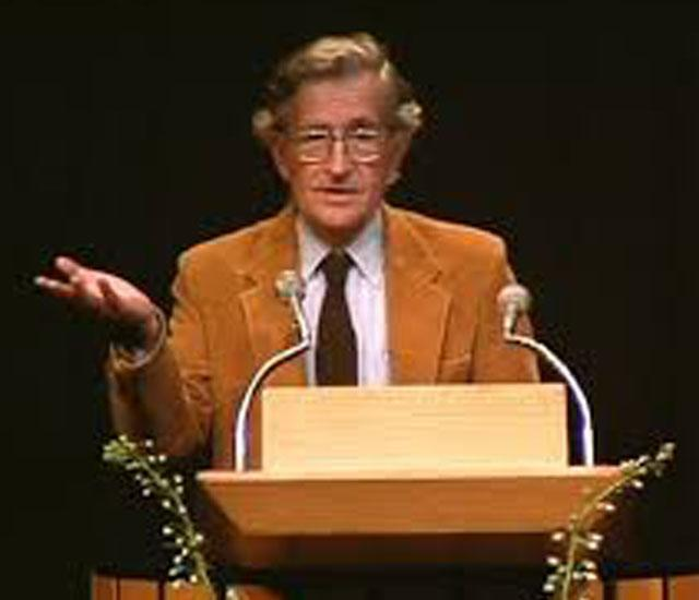 Noam A. Chomsky photo