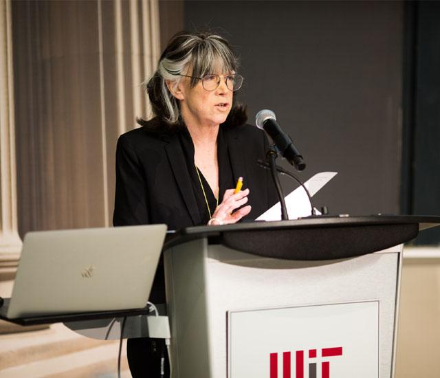 Professor Susan Silbey; Photo: Jake Belcher